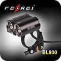 Dupla cabeça de luz conduzida da bicicleta, as vendas anuais de 1000000 unidades!!! Qualidade de nível militar, garantia de dois anos