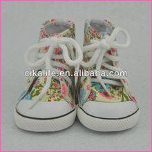 2013 Hot sale patterns doll dress shoes