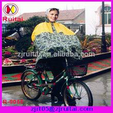 High quality camo rain poncho