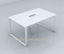 Modern Glass Office Desk New Style Melamine Table Top Executive Office Desk