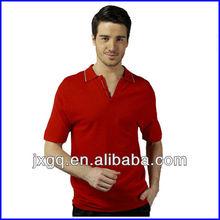 PN-1001 green and black polo shirt red and black polo shirt blue white stripe polo shirt