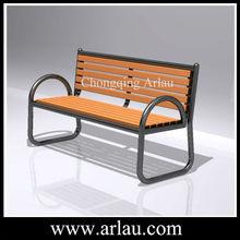 wrought iron garden furniture indoor wooden benches (Arlau FW86)