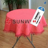Foam PVC Waterproof Tessels Garden Table Cloth cover