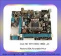Nuevo Producto Placa Base Intel H61 compatible con los procesadores LGA1155 i3, i5, i7 Placa base con condensador de material sólido