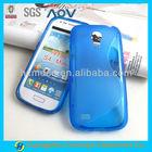 S curve back cover for Samsung S4 MINI case i9190