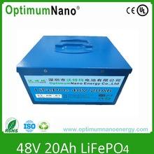 lifepo4 battery 48v 20ah for UPS, solar/wind system,energy storage,e-tool