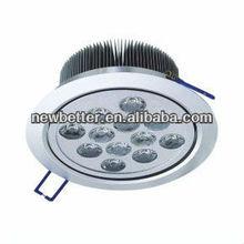 Hot sale 12x1W LED Down light,3 year warranty,CE&RoHS