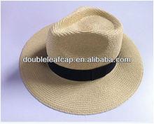2013 mens summer beach maroon fedora boater cap custom panama hat wholesale