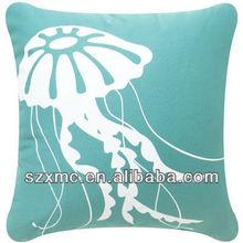 High quality beach photoreal printing cushion/ pillow