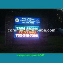 coreman digital led sign /bus led sign messages /led bus advertising display