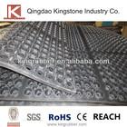 hollow mats rubber tile sheet