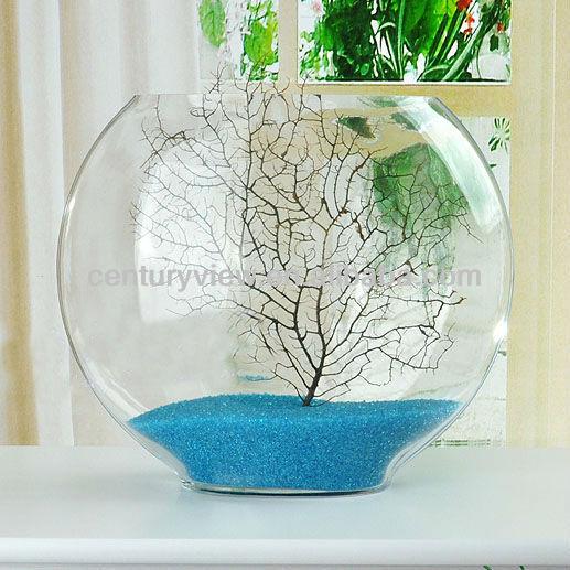 Showpiece For Home Decoration Glass Fish Bowl Wholesale