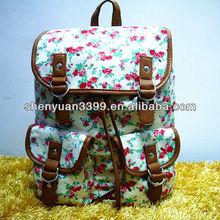 promotion plain backapck travel bag laptop bag for girl