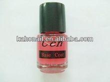 2014 new fashion design color gel nail polish Nail Painting for 8ml mini glass nail polish bottles