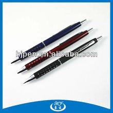 Press Crystal Decoration Metal Ball Pen