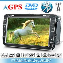 8 inch car DVD player navigation system For VW