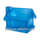 Plastic House Shape Coin Bank