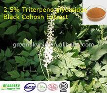 2.5%Triterpene glycosides Black Cohosh Extract