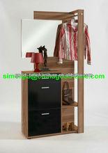 elegant hallway shoe cabinet