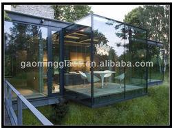Outdoor aluminum sunlight glass room DS-LP423