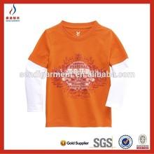 kid clothing cotton printed t shirt