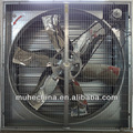 de gran tamaño de metal industrial de escape del ventilador