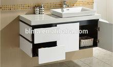lacquer door bathroom vanity corner cabinet