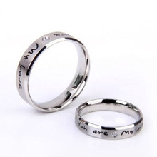 wedding stainless steel ring of fire johnny cash