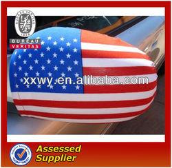 custom USA flag car mirror cover/sock