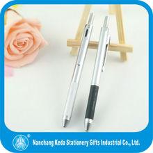2013 Multi-functional 4 color metal pen for promotional (3 ball refills + pencil, 2 ball refills+pencil+ PDA stylus)