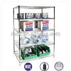 5 Tiers Heavy Duty Shop Display Shelf,Display Shelves,Easy Assemble