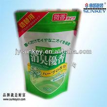 plastic bags manufacturer resealable zipper bottom gusst stand up pouch