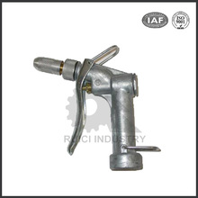 Custom high pressure adjustable stainless steel water spray gun
