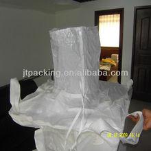 2013 Hot sale!! FIBC Bag/PP Bulk Bag/ PP white bulk bag with Filling spout 1500kg,Made in China