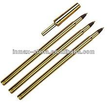 Gold color Cheap plastic Ball Pen /Stick ball pen