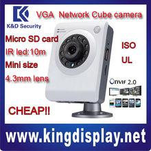 OEM cheap IPC-A6-I dahua CUBE ip camera 10 meter IR office home use onvif2.0 shop use buy ip camera