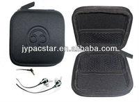 eva case for earphone with emboss logo