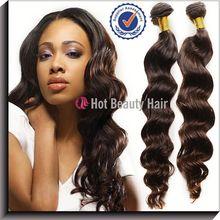 5A virgin brazilian velvet remy hair weave