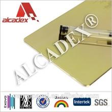 external cladding aluminum composite sheet/mirror acp for building wall cladding