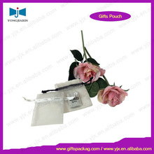 Assorted in stock promotional organza gift pouch for wedding