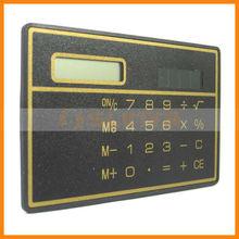 Solar Powered Thin Pocket Credit Card Calculator