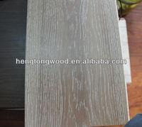Oak white washed brushed engineering wood flooring, engineered Flooring, hardwood flooring RLX127X15mm/2.0