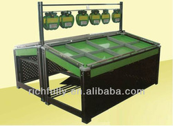 RFY-SO02: Durable and Luxurious Double-side Fruit Vegetable Rack