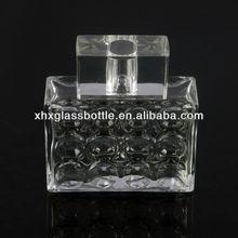 2013 new design glass perfume bottle for men colonge