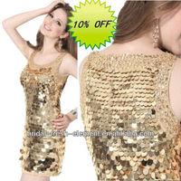 Hot Sale Elegant Luxury Sequins Short Sexy Club Dresses 2013