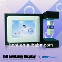 New Technology ! Magnetic Levitating Promotion Display stand, promotional magnifying glass
