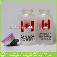 Clear glass vials glass ampoules test vials