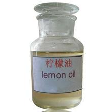Fruit oil for fragrance and flavors Lemon Oil distilled