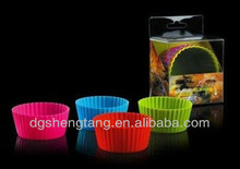 Silicone Large Muffin Cases -Assorted Color,silicone bakeware.silicone chocolate/ICE mould,silicon cupcake cases