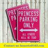 car parking sign metal parking sign